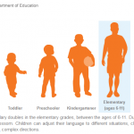 Literacy by stage of development